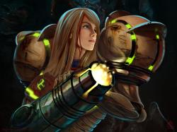 Image of Samus Aran from LunarComics