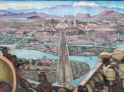 Tenochtitlan. The city of Mexico-Tenochtitlan ...