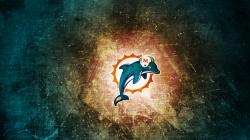 Miami Dolphins Nfl Logo Wallpaper
