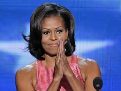 """""""For Barack,"""" said Michelle Obama in her wildly acclaimed speech tonight, """"these issues aren't political – they're personal."""""""