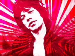 Mick Jagger Pop Graphic by ashleeeyyy ...
