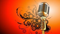 Free Microphone Wallpaper