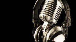 Cool Microphone Wallpaper