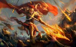 Mighty battle warrior