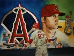 Mike Trout by Snakeeyes152 ...