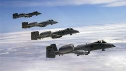 4 Military Aircraft alinement