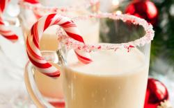 Milk Candy Christmas Winter New Year