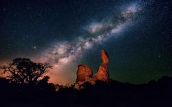 Hear of the Milky Way. Photo from NGC.