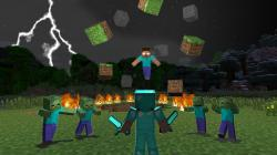 For those of you who know the Minecraft myth of Herobrine, this mod is perfect for you. It adds a whole new level of fear in the game.