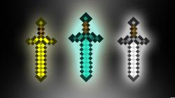Diamond Sword with Wallpaper Images for Gt Minecraft Steve