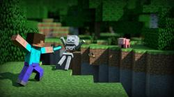Following the click of the download button, right click on the image and select SAVE AS to complete your download. Filename : Minecraft HD Wallpaper ...