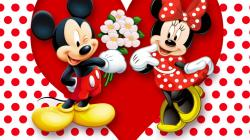 Mickey And Minnie Mouse Wallpaper for Desktop 1920x1080 Full HD
