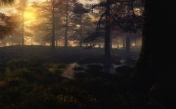 Autumn Mist Wallpaper by mayaslash Autumn Mist Wallpaper by mayaslash