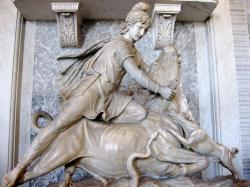 Mithras/Mithra, Vatican Museums.