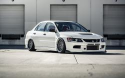 Mitsubishi Lancer Evolution 9 Car BBS Wheels Tuning