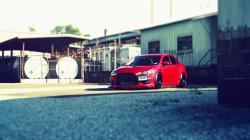 Mitsubishi Lancer Evolution Evo Tilt-Shift