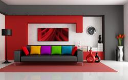 colorful modern interior design wallpaper Wallpaper