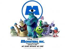 """""""Monsters, Inc."""" desktop wallpaper number 1 (1024 x 768 pixels)"""