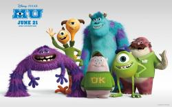 Monsters University Disney Animation Cartoon