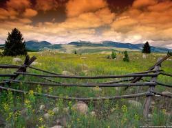 Wallpaper: Flint mountains Montana