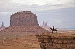Other parts of Monument Valley were added to the Navajo Reservation in 1884 and 1933. An estimated 100 Navajo people live in the valley today.