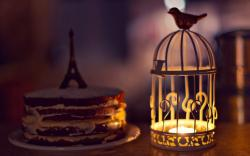 Mood Cell Candle Lantern Bird Cake Eiffel Tower Statue