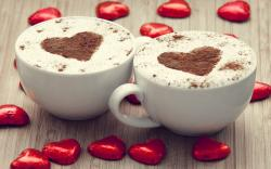 Mood Cups Cappuccino Hearts