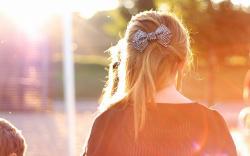 Mood Girl Hair Bow Jewelry