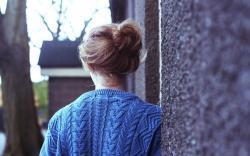 Mood Girl Sweater Blue