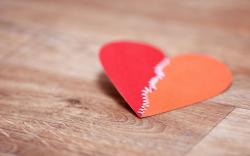 Mood Heart Paper Macro Love