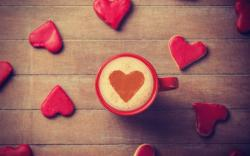 Mood Mug Cup Heart Cappuccino Love