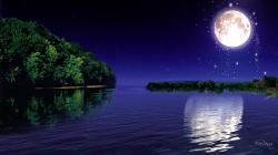 Moonlight Desktop Wallpaper Free Wallpaper