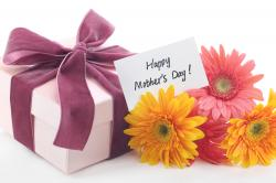 Mothers Day Cards With Gift And Flowers