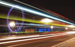 Motion Blur Night Panorama Wallpaper Px Free Download
