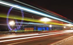 Motion Blur Night Panorama Wallpaper Px Free Download