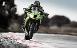 Motorcycle Kawasaki Ninja ZX-10R Speed Track