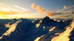 Cool Mountain Range Wallpaper 14162