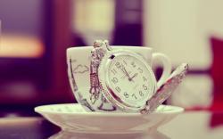 Mug Cup Clock