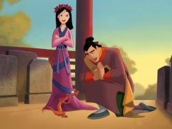 Disney Mulan Cartoons