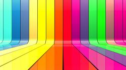Multicolor 3D Ribbons HD Wallpaper | High Definition Wallpapers