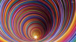 ... Multicolored tunnel wallpaper 1920x1080 ...