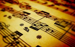Music Notes Close-Up