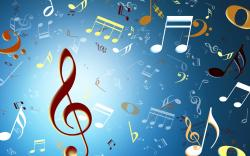 Music Rain Wallpaper