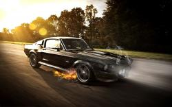 Mustang shelby photoshopped