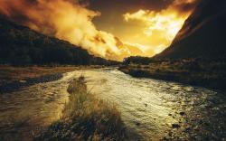 Mystic river scenery