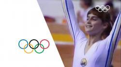 Nadia Comaneci - First Perfect Score | Montreal 1976 Olympics