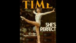 Nadia Comaneci The number 1