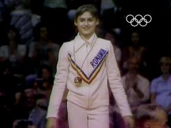 Nadia Comaneci 1976 Uneven Bars