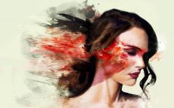Natalie portman painting