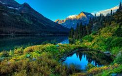 Lake Mountain Scenery